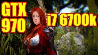 getlinkyoutube.com-Black Desert GTX 970 & i7 6700k | 1080p Maxed Out | FRAME-RATE TEST