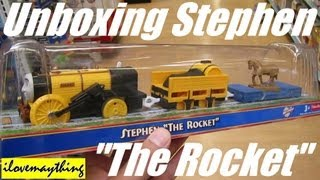 "Unboxing Stephen ""The Rocket"" - Thomas King of The Railway Trackmaster"