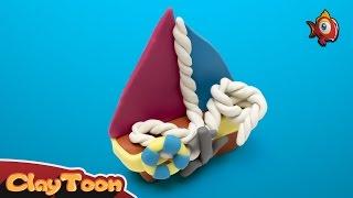 Boat | Polymer clay tutorial