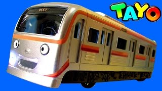 getlinkyoutube.com-Tayo the Little Bus Subway Train Baby Toy | Metro | тайо Игрушки | 타요 메트 지하철 ★타요 꼬마버스 타요