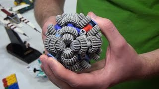 getlinkyoutube.com-LEGO Technic gear ball – BrickFair Virginia 2015