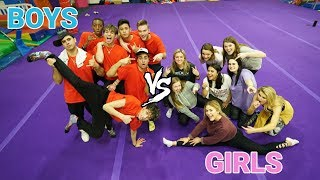 GIRLS vs. BOYS DANCE Challenge!