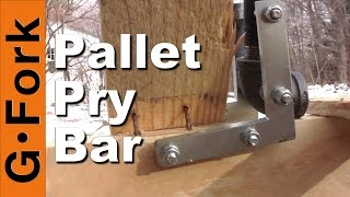 getlinkyoutube.com-DIY Pallet Pry Bar - GardenFork