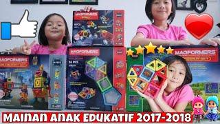 getlinkyoutube.com-Mainan anak edukatif Magformers Terbaru - 3D BRAIN TRAINING Toys Lifia Niala