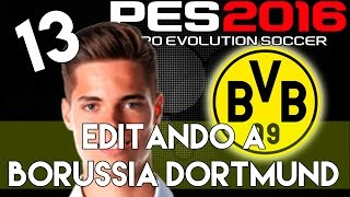 getlinkyoutube.com-PES 2016 | Abilities and face stats of Julian Weigl | Editando a Borussia Dortmund #13 | PS4.