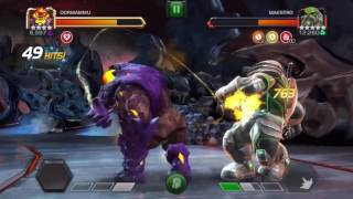 4 Star Dormammu VS Maestro - Marvel Contest Of Champions