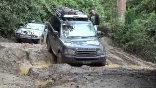 getlinkyoutube.com-Range Rover Sport Vs Triton - Battle of the tyres