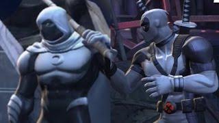 getlinkyoutube.com-Marvel Contest Of Champions - Moon Knight Battle DeadPool X-Force