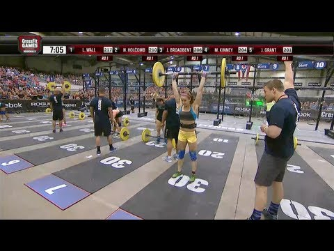 CrossFit - Central East Regional Live Footage: Men's and Women's Event 6