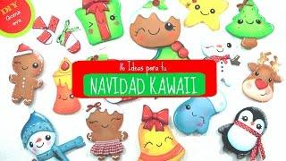 getlinkyoutube.com-16 adornos Kawaii para Navidad -KLOF 🎄