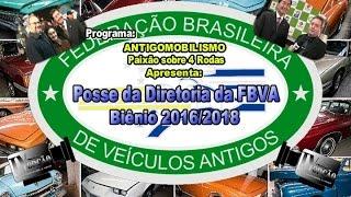 Posse Diretoria da FBVA-Biênio 2016 a 2018