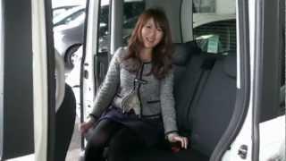 getlinkyoutube.com-ホンダNBOXに試乗 N BOX Custom【さゆの新車レポート vol.01】