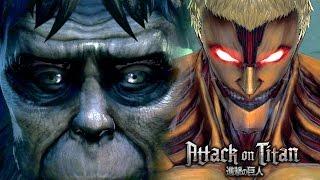 getlinkyoutube.com-Eren vs The Ape / Beast & Armored Titan Secret Boss Battle   Attack on Titan: Wings of Freedom