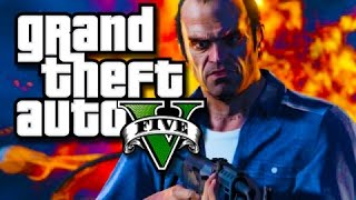 GTA 5 - Wetting The Bed with the Crew! (GTA 5 Funny Moments and Races!)