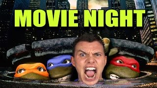 getlinkyoutube.com-TEENAGE MUTANT NINJA TURTLES - MOVIE NIGHT