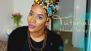 getlinkyoutube.com-Tutorial | Head Wrap