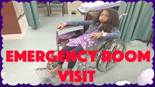 getlinkyoutube.com-EMERGENCY ROOM VISIT ~ X-RAY, WHEELCHAIR, CRUTCHES Oh my! Family Vlog