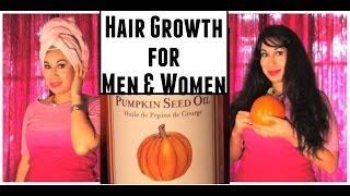 getlinkyoutube.com-PUMPKIN HAIR GROWTH TREATMENT for BOTH MEN WOMEN