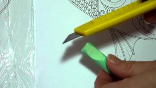 Colouring Book Tutorial. Colour Pastel Background Made Easy.