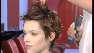 getlinkyoutube.com-Dare Chisel Short Hair Style Training Video