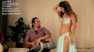 getlinkyoutube.com-Sadie Bellydance and David Hinojosa: Improvisation Drum Solo 2016