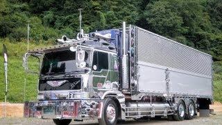 安曇野急行 秋の信州トラック祭 2013 由加丸  椎名急送  デコトラ 8番