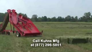 Kuhns Mfg 1036F Hay Accumulator