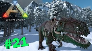 getlinkyoutube.com-ARK Survival Evolved # 21 Giganotosaurus จับน้องกี้ก้าน่ารัก
