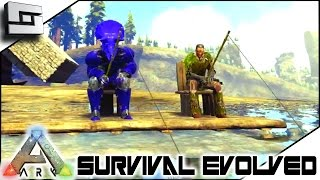 getlinkyoutube.com-ARK: Survival Evolved - FISHING! S4E44 ( The Center Map Gameplay )