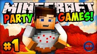 "getlinkyoutube.com-Minecraft PARTY GAMES #1 - ""VOLCANO ERUPTION!"" w/ Ali-A"