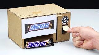 How to Make CHOCOLATE Vending Machine
