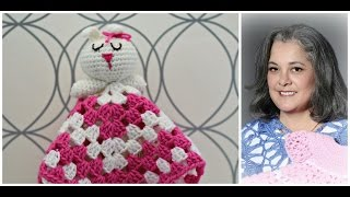 getlinkyoutube.com-How to crochet bunny blankie lovie - Part 1 (subtitulos en espanol - Parte 1 )