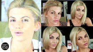 getlinkyoutube.com-Бюджетный быстрый макияж за 10 минут от Beauty Ksu