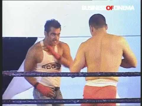 Dabangg superstar Salman Khan in a boxing match for Dixcy Scott Innerwear