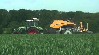 Challenger RoGator sprayers at work