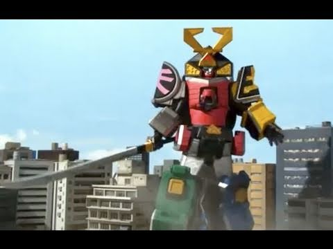 Power Ranger Megazord Reviews: Power Rangers Samurai Megazord