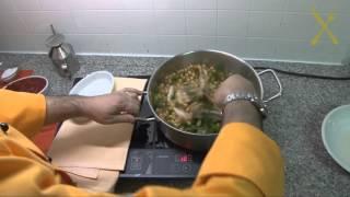 RIcettario - quartapuntata - La zuppa di ceci con carne di maiale