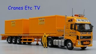 getlinkyoutube.com-Corgi Volvo FH 'McNally's' by Cranes Etc TV
