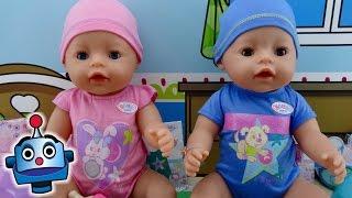 getlinkyoutube.com-NUEVOS Baby Born Interactivos niño y niña - Juguetes de Baby Born