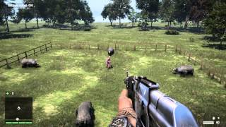 getlinkyoutube.com-Far Cry 4: Fun Ways To Kill Pagan Min