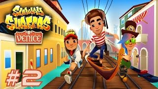 getlinkyoutube.com-Subway Surfers: Venice - Samsung Galaxy S6 Edge Gameplay #2