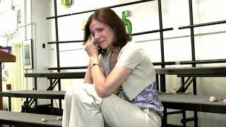 getlinkyoutube.com-Student Chorus Brings Teacher to Tears After Breast Cancer Diagnosis