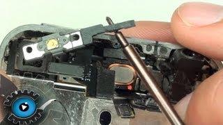 getlinkyoutube.com-iPhone 4 Power Button Annäherungssensor Hörmuschel Umgebungsmicrofon Wechseln Reparieren Teil 2
