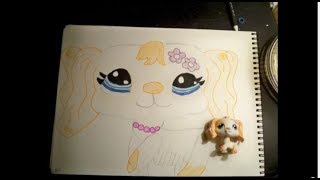 How to Draw: A LPS Cocker Spaniel
