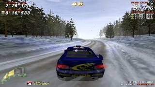 getlinkyoutube.com-Sega Rally 2 Championship (SEGA) (Windows) [1999]