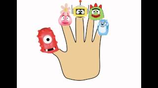 getlinkyoutube.com-Yo Gabba Gabba Finger Family | Nursery Rhyme for Children | 4K Video