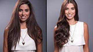getlinkyoutube.com-كيفيّة الحصول على إطلالة الشعر المموّج الطبيعي في المنزل