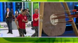 getlinkyoutube.com-Turkish Archery on TV: NTV Spor Aski Programi