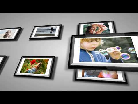 3D Photo Frame - Sony Vegas Template