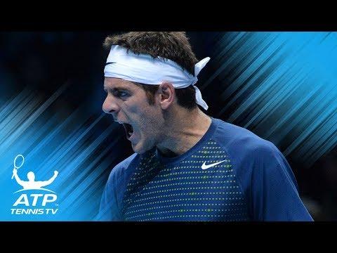 Best shots from the Roger Federer v Juan Martin del Potro rivalry